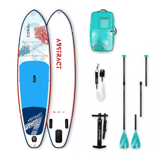 Paddle Abstract Coral en pack complet 2020