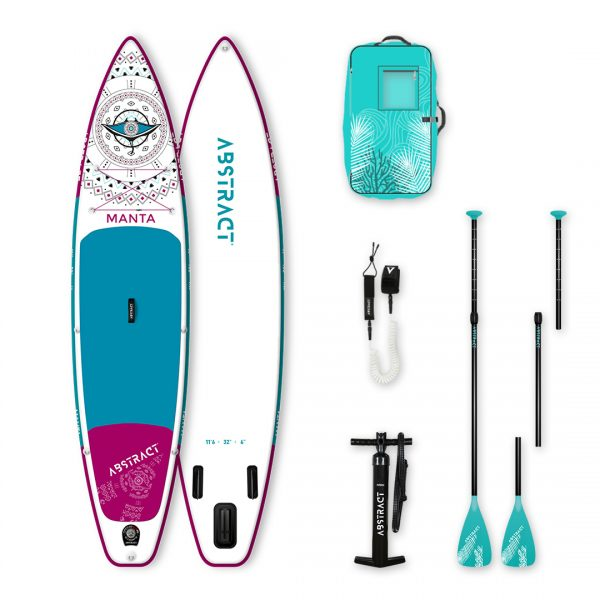 Paddle Abstract Manta en pack complet 2020