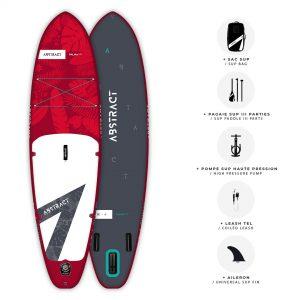 Planche de Paddle gonflable Abstract Palma 2021 Ruby avec ses accessoires inclus