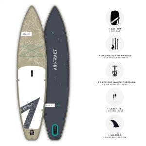 Planche de Paddle gonflable Abstract Saku 2021 Sable avec ses accessoires inclus