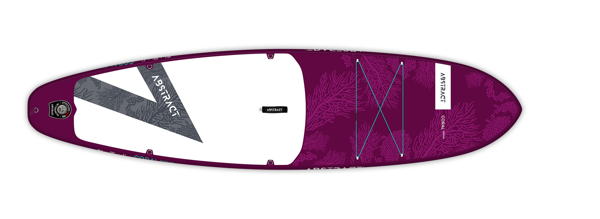 Planche de paddle Board gonflable Coral Saphir (Violet) Abstract 2021