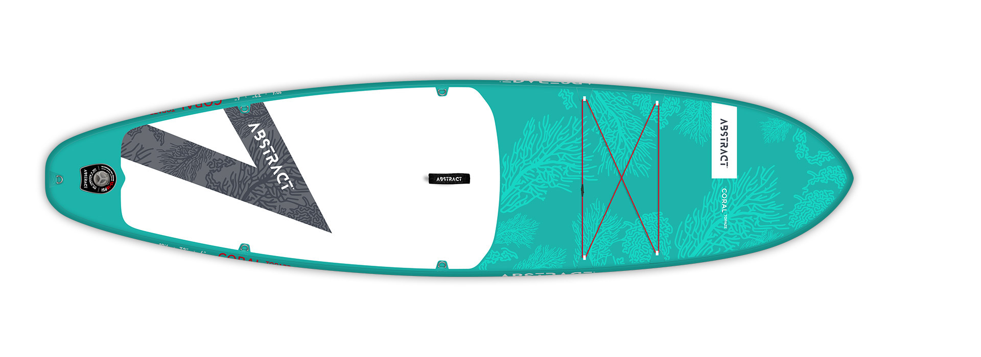 Planche de paddle Board gonflable Coral Topaze (Bleu) Abstract 2021