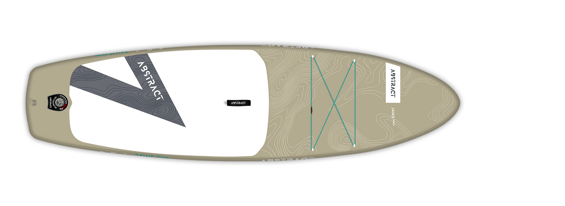 Planche de paddle Board gonflable Jaws Sable (Beige) Abstract 2021
